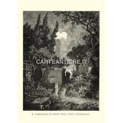 Il Camposanto di Napoli nella festa d'Ognissanti