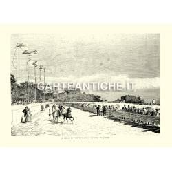 Le corse dei Birocci sulla spiaggia di Napoli