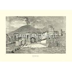 Veduta antica di Pompei