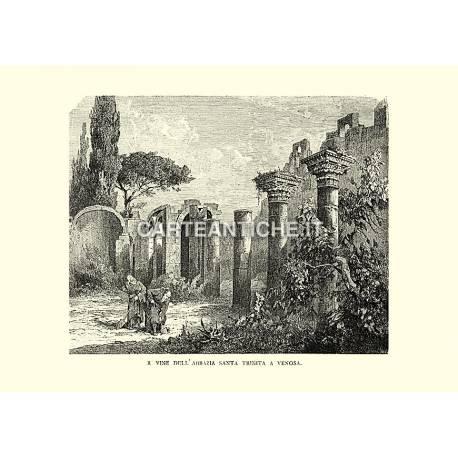Rovine dell'abbazia Santa Trinità a Venosa.