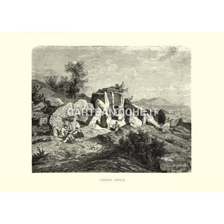 Veduta di Canosa antica.