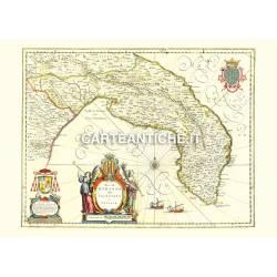 Puglia, carta antica 02.