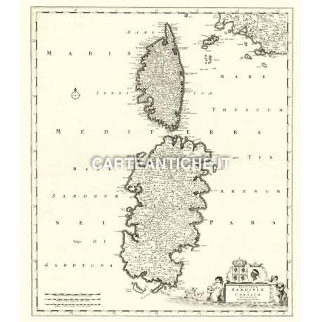 Sardegna, carta antica 01.