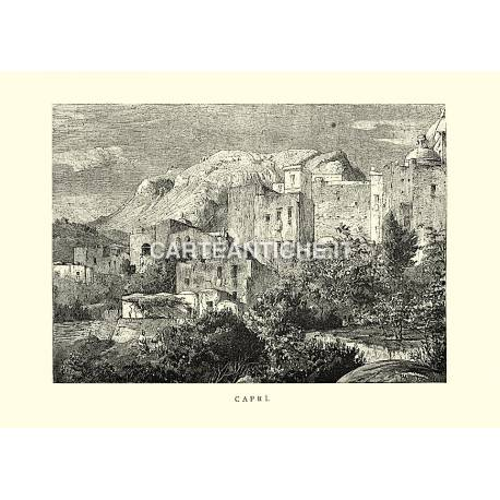 Veduta antica di Capri.