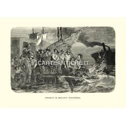 Imbarco di briganti prigionieri