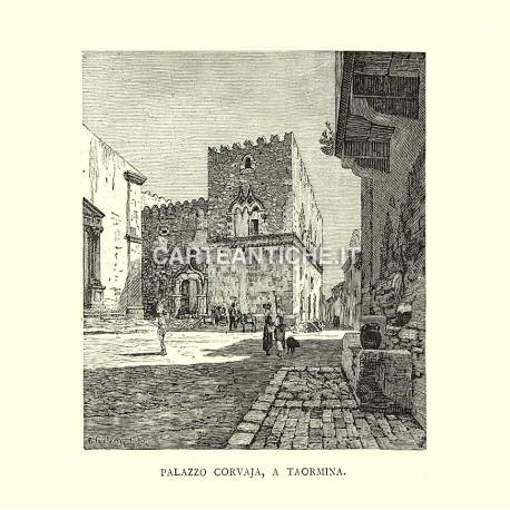 Palazzo Corvaja, a Taormina.