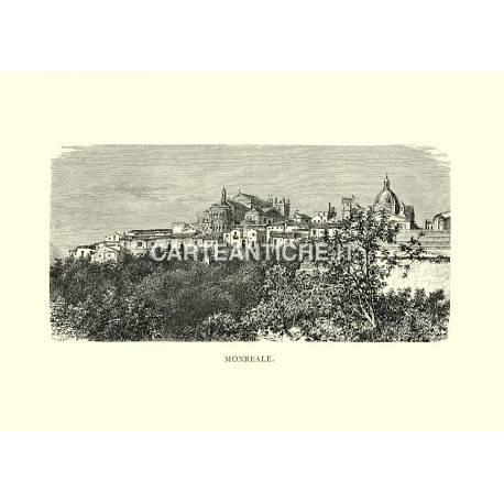 Monreale (veduta antica)