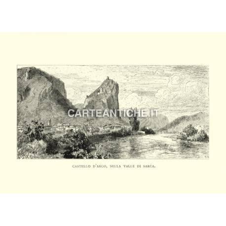 Castello d'Arco, nella Valle di Sarca.