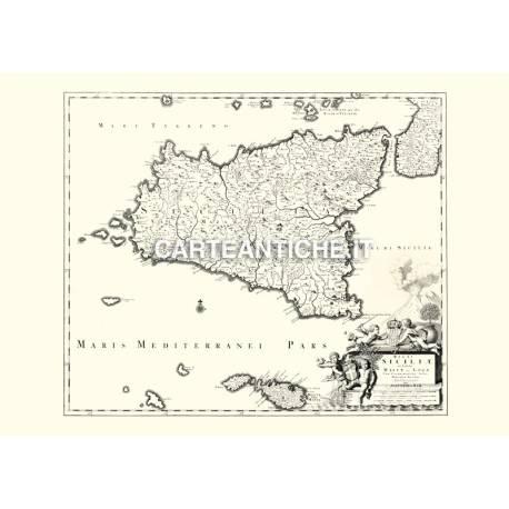 Sicilia, carta antica 02.