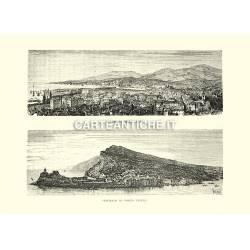 Panorama della Spezia e Porto Venere.