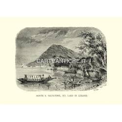 Monte S. Salvatore, sul Lago di Lugano.