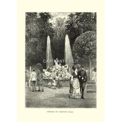 Torino: Fontana di Nereide e Tritoni nei giardini reali