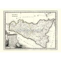 Sicilia, carta antica 03