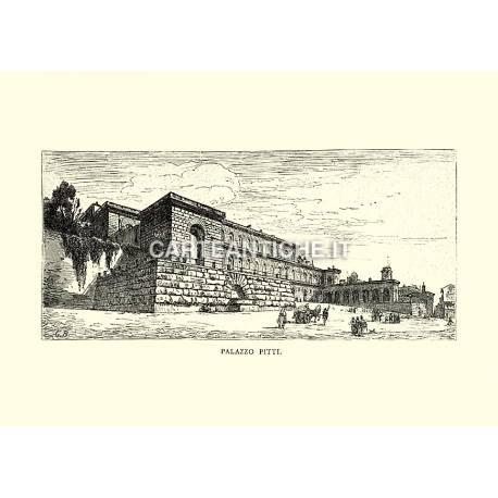 Veduta di Palazzo Pitti.