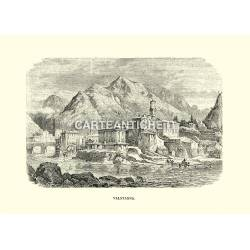 Veduta antica di Valstagna