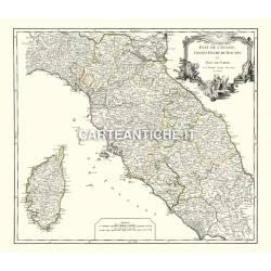 Toscana, carta antica 03.