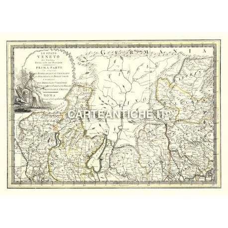 Trentino, carta antica 01.