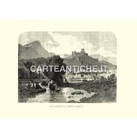 San Germano e Monte Cassino.