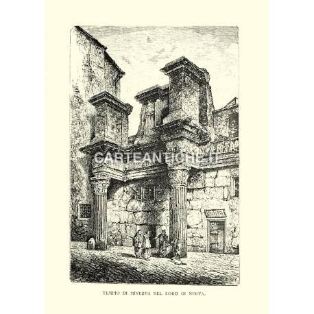 Tempio di Minerva nel Foro di Nerva.