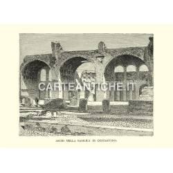 Archi della Basilica di Costantino.