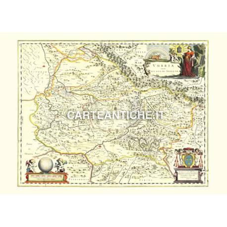 Umbria, carta antica 03.