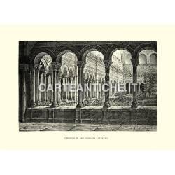 Chiostro di San Giovanni Laterano.
