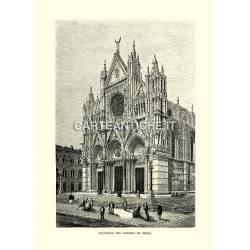 Facciata del Duomo di Siena.