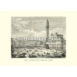 Siena - Veduta della Piazza del Campo