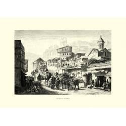 Una strada di Tiflis