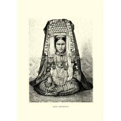 Costumi: Donna turcomana.