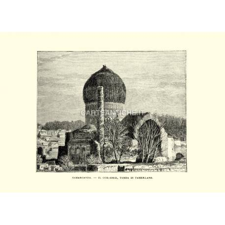 Samarcanda. Il Gur-Emir, tomba di Tamerlano.