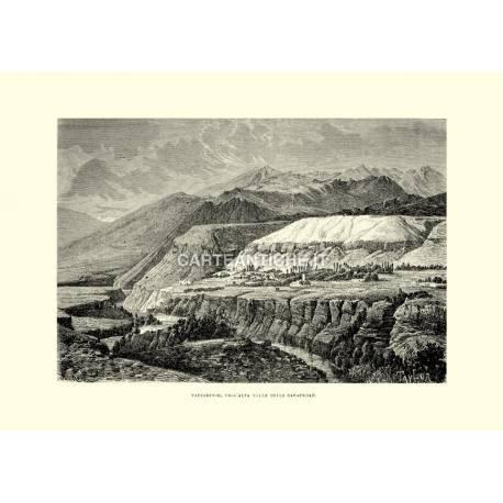 Varzaminor, nell'alta valle dello Zarafscian.