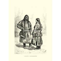 Costumi: Ostiachi (uomo e donna)
