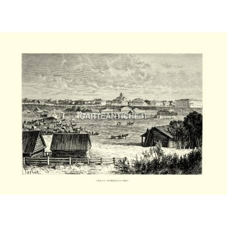 Veduta antica di Omsc.