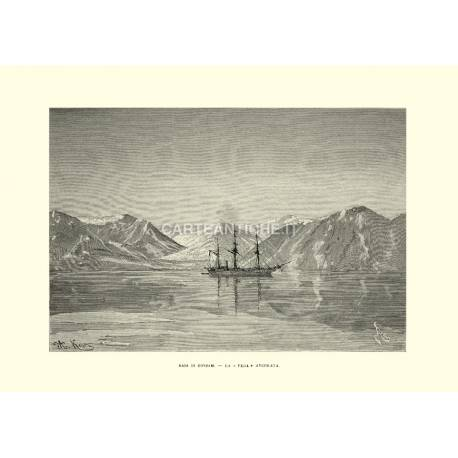 Baia di Coniam. La Vega ancorata.