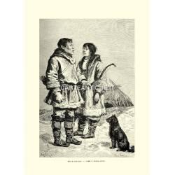 Costumi: uomo e donna Ciuci.