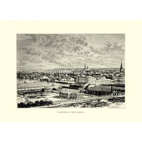 Veduta antica di Jecaterinburg.