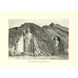 Idoli colossali nella valle superiore di Bamian.