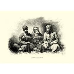Mingrelii - Tipi e costumi (Asia)