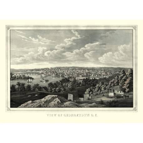 Veduta di Georgetown D.C. (1855)