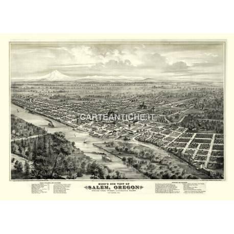 Salem, Oregon (1876)