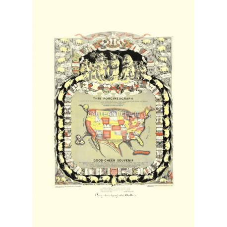 USA Porcineograph Satirical (1876)