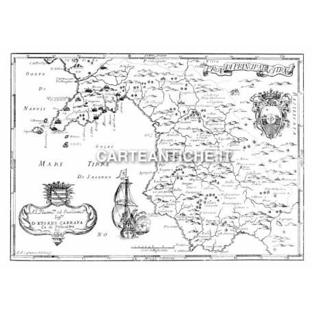 Carta antica, Campania 02.