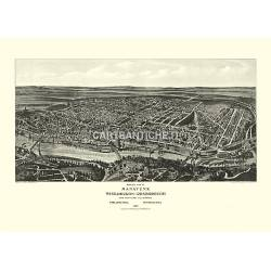 Manayunk Wissahickon-Roxborough, Philadelphia, Pennsylvania (1907)