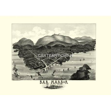 Bar Harbor, Maine (1886)