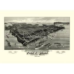 Peaks Island, Portland harbor, Maine (1886)