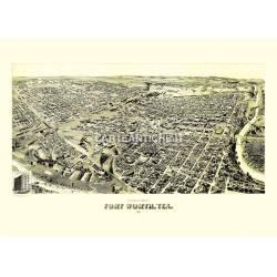 Forth Worth, Texas (1891)