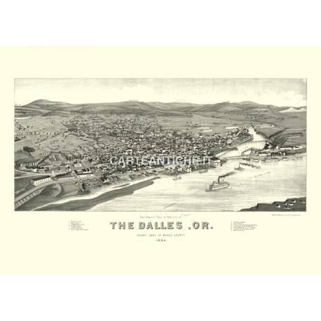 The Dalles, Oregon (1884)