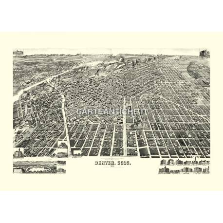 Denver, Colorado (1889)