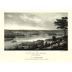 City of Saint Paul, Minnesota (1853)